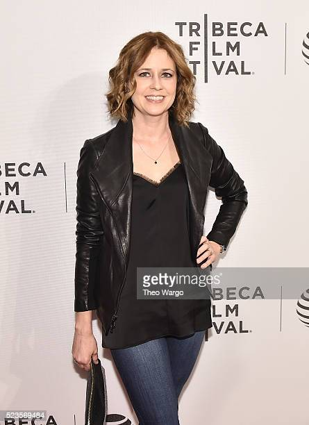 Jenna Fischer attends Geezer Premiere 2016 Tribeca Film Festival at Spring Studios on April 23 2016 in New York City