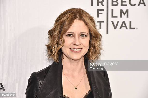 Jenna Fischer attends 'Geezer' Premiere 2016 Tribeca Film Festival at Spring Studios on April 23 2016 in New York City