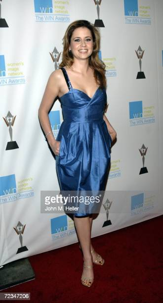 Jenna Fischer attends the 13th Annual Women's Image Network Awards at the Freud Playhouse on the UCLA Campus on November 1 2006 in Westwood California