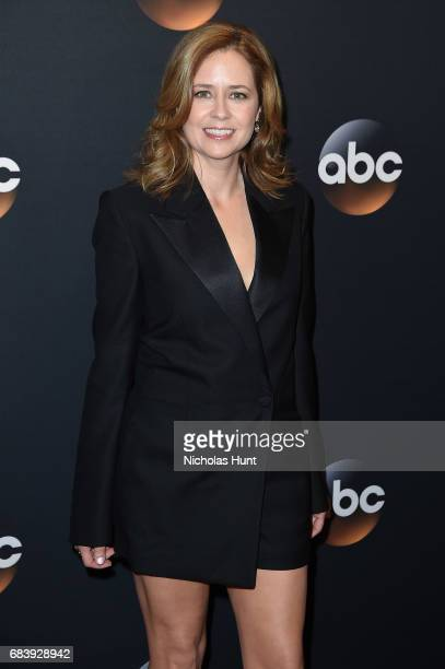 Jenna Fischer attends the 2017 ABC Upfront on May 16 2017 in New York City