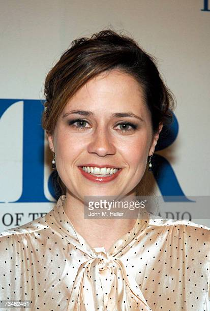 Jenna Fischer attends the TwentyFourth Annual William S Paley Television Festival with the cast and producers of The Office at the Directors Guild of...