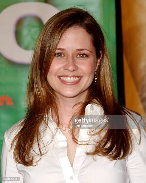 Jenna Fischer during 2005 NBC Winter TCA All Star Party at Hard Rock Cafe in Universal City California United States