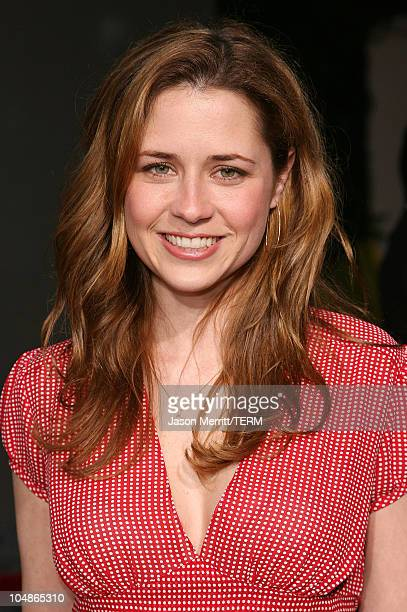 """Jenna Fischer during """"American Dreamz"""" Los Angeles Premiere - Arrivals at ArcLight Hollywood in Hollywood, California, United States."""
