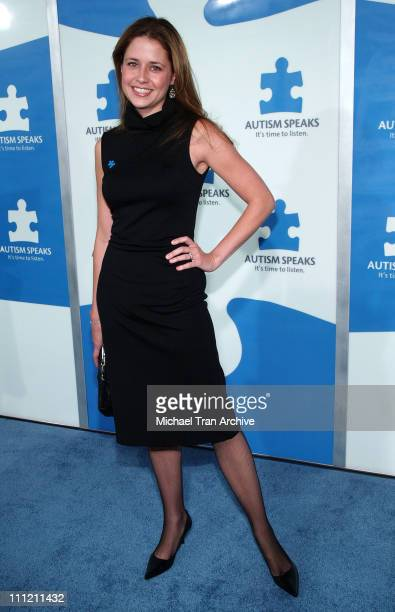 Jenna Fischer during Jerry Seinfeld and Paul Simon To Perform 'One Night Only A Concert for Autism Speaks' Arrivals at Kodak Theater in Hollywood...