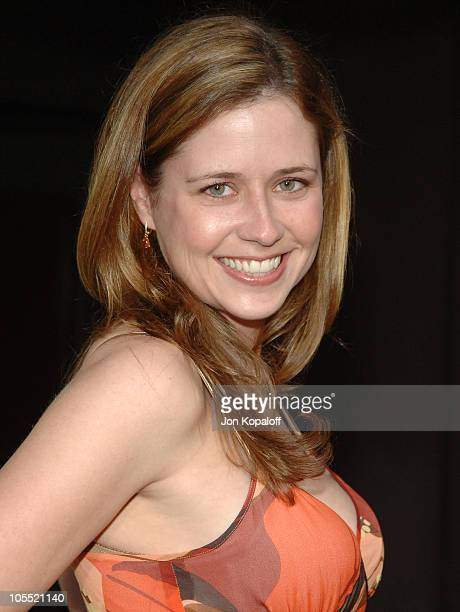 Jenna Fischer during 'Land of the Dead' Los Angeles Premiere Arrivals at Mann's National Theater in Westwood California United States