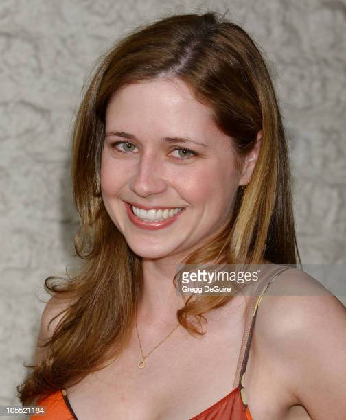 """Jenna Fischer during """"Land of the Dead"""" Los Angeles Premiere - Arrivals at National Theatre in Westwood, California, United States."""