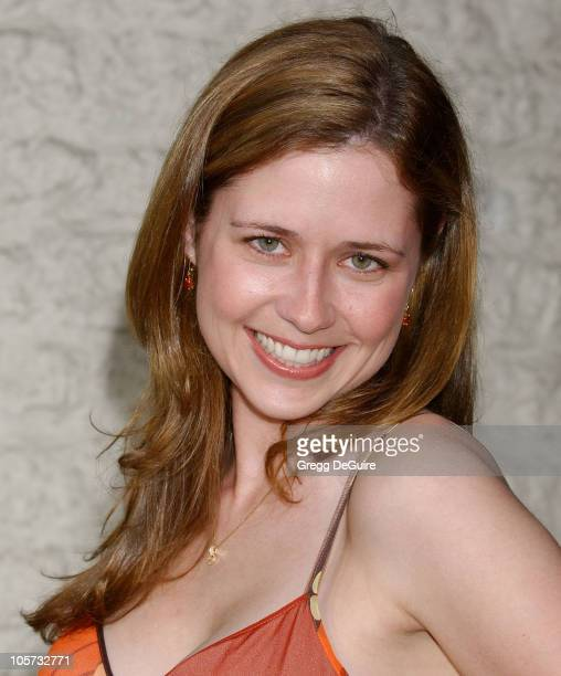 Jenna Fischer during 'Land of the Dead' Los Angeles Premiere Arrivals at National Theatre in Westwood California United States