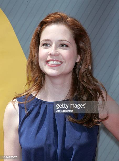 Jenna Fischer during NBC 2007 Upfronts at TBD in New York City New York United States