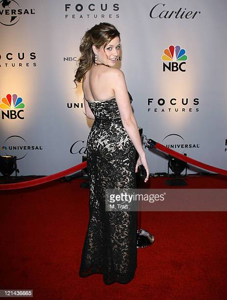 Jenna Fischer during NBC Universal Golden Globe After Party at Beverly Hilton Hotel in Beverly Hills Calfirnia United States