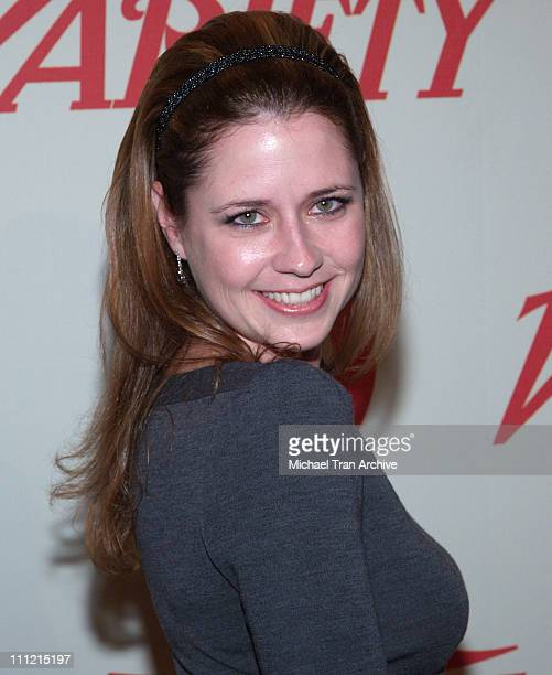 Jenna Fischer during Variety Centennial Gala Arrivals at Beverly Hills Post Office in Beverly Hills California United States