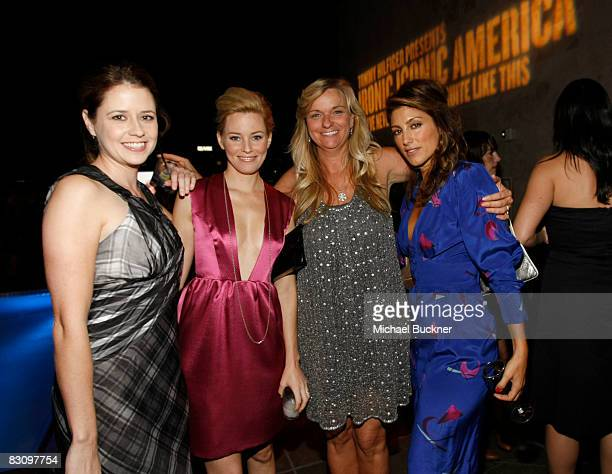 Jenna Fischer Elizabeth Banks Glynis Costin and Jennifer Esposito attend a party hosted by InStyle for Tommy Hilfiger's Bravo TV special Ironic...