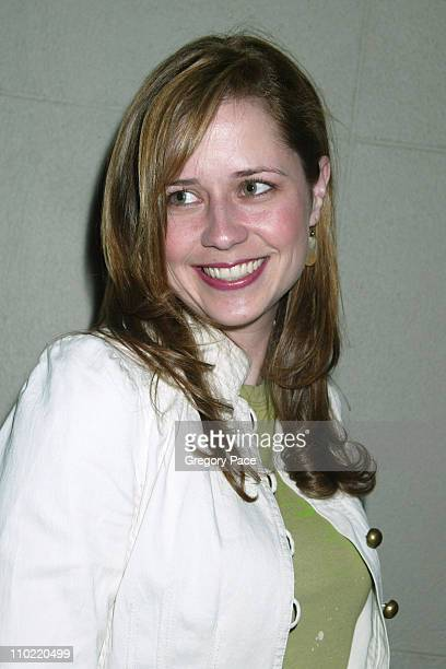 Jenna Fischer of The Office during 2005/2006 NBC UpFront Talent After Party at Maritime Hotel in New York City New York United States