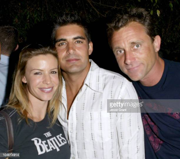 Jenna Gering Galen Gering and Justin Carroll during Kelly Nishimoto Corset Couturier Party and Fashion Show at Gamine Salon in West Hollywood...