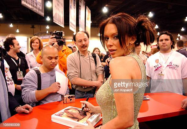 Jenna Jameson Adult Film Star during Internext Las Vegas 2005 at Mandalay Bay Hotel Convention Center in Las Vegas Nevada United States