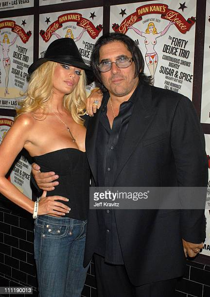 Jenna Jameson and Ivan Kane during Ivan Kane's Forty Deuce Present Silicon Sundays Hosted by Jenna Jameson at Mandalay Bay Hotel & Casino in Las...