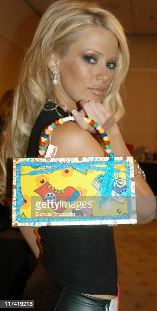 Jenna Jameson during 2003 Spike TV Video Game Awards Backstage Creations Gift Bags Presentation at The MGM Grand Hotel And Casino Resort in Las Vegas...