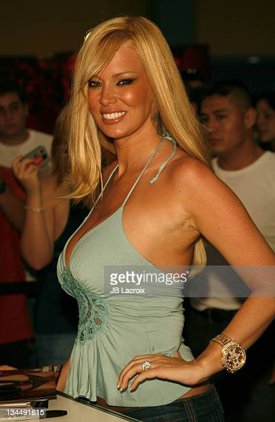 Jenna Jameson during Exxxotica Miami Beach Adult Industry Convention at Miami Beach Convention Center in Miami Florida United States