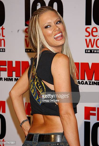 "Jenna Jameson during FHM Magazine Hosts The ""100 Sexiest Women in the World"" Party at Raleigh Studios in Hollywood, California, United States."