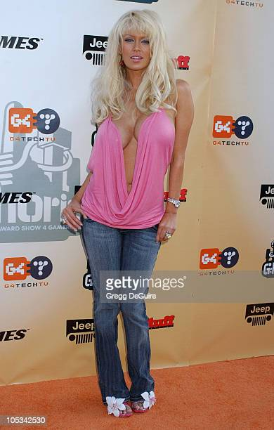 Jenna Jameson during 'GPhoria The Award Show 4 Gamers' at Shrine Auditorium in Los Angeles California United States