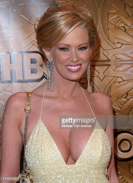 Jenna Jameson during HBO 2006 Golden Globes After Party Arrivals at Beverly Hills Hilton in Beverly Hills California United States
