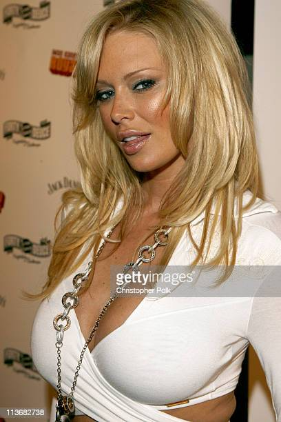 Jenna Jameson during Ivan Kane's Royal Jelly Live '06 - Arrivals at Forty Deuce in Hollywood, California, United States.