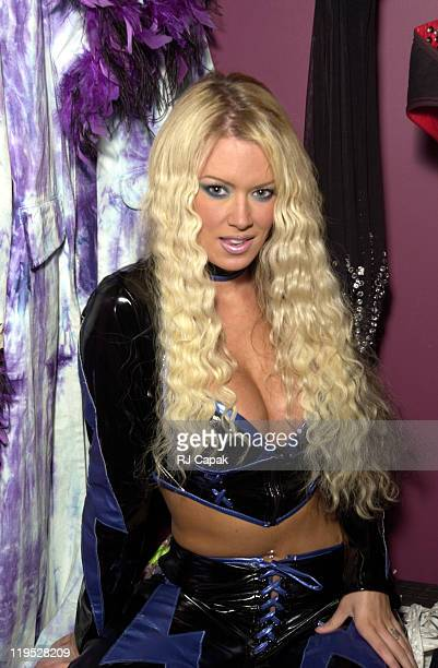 Jenna Jameson during Jenna Jameson backstage at the Gold Club at The Gold Club in Hartford CT United States