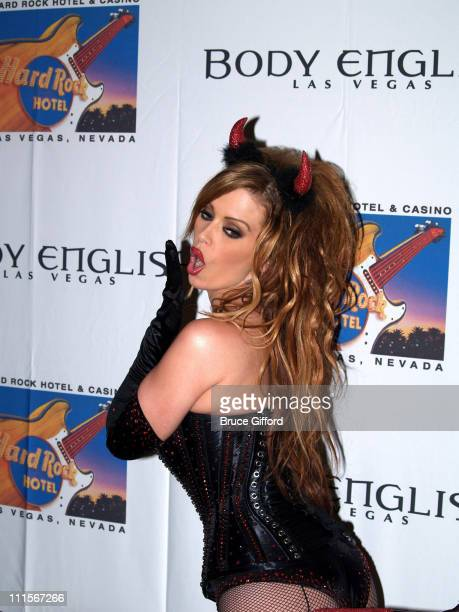 Jenna Jameson during Jenny McCarthy and Jenna Jameson Host the Body English Halloween Bash at The Hard Rock Hotel and Casino in Las Vegas Nevada...