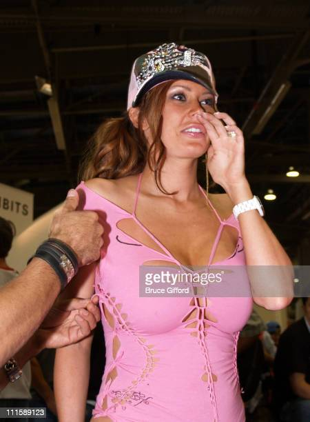 Jenna Jameson during Magic The Business of Fashion at Las Vegas Convention Center Las Vegas Hilton in Las Vegas Nevada United States