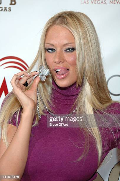 Jenna Jameson during Playboy Club Grand Opening at Palms Casino Resort October 7 2006 at Palms Casino Resort in Las Vegas Nevada United States