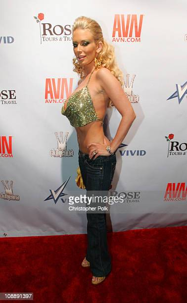 Jenna Jameson during Super Bowl XL The Vivid Club Jenna Bowl at The Zoo Bar in Detroit Michigan United States