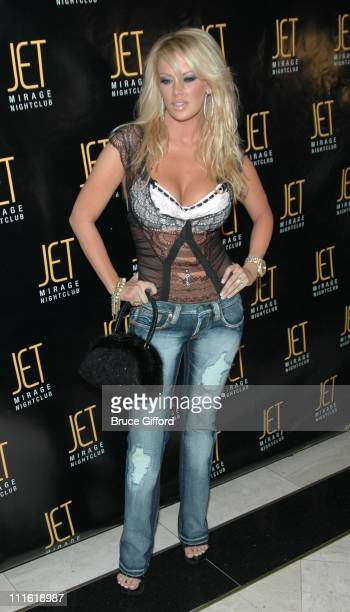 Jenna Jameson during Victoria's Secret Las Vegas Store One Year Anniversary Celebration at Jet Mirage Nightclub in Las Vegas Nevada United States