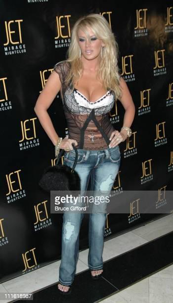 Jenna Jameson during Victoria's Secret Las Vegas Store One Year Anniversary Celebration at Jet Mirage Nightclub in Las Vegas, Nevada, United States.