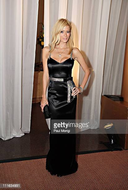 Jenna Jameson in Dolce Gabbana at the annual The USO World Gala at the National Building Museum on September 20 2007 in Washington DC