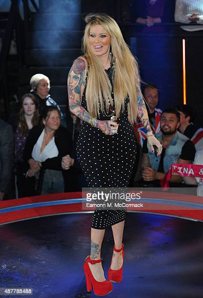 Jenna Jameson is the 4th celebrity evicted from the Big Brother house at Elstree Studios on September 11, 2015 in Borehamwood, England.