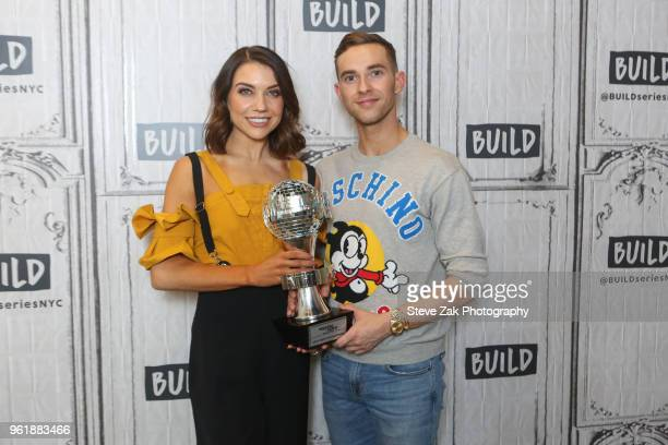 Jenna Johnson and Adam Rippon visit Build Series to discuss 'Dancing with the Stars' at Build Studio on May 23 2018 in New York City