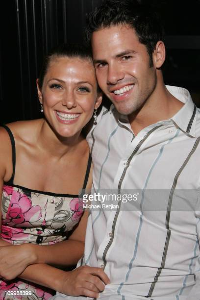 Jenna Lewis and Steven Hill during E Entertainment Kill Reality Premiere in Los Angeles California United States