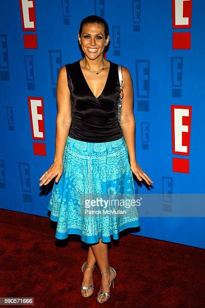 Jenna Lewis attends E Entertainment Television's Summer Splash Event at Tropicana at Hollywood Roosevelt Hotel on August 1 2005