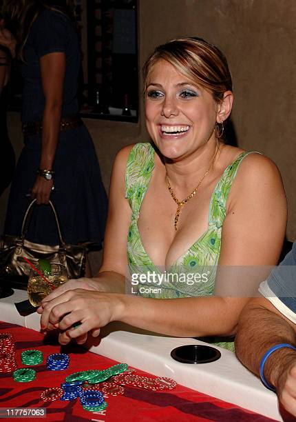 Jenna Lewis during 2005 Stuff Style Awards Inside at Hollywood Roosevelt Hotel in Los Angeles California United States