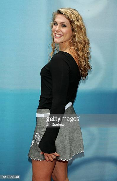 Jenna Lewis during CBS Prime Time 20042005 Upfront at Tavern on the Green in New York City New York United States