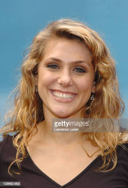 Jenna Lewis during CBS Primetime 20042005 UpFront Party at Tavern on the Green in New York City New York United States