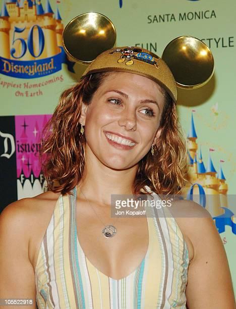 Jenna Lewis during Disney Vintage by Jackie Brander Celebrates 50th Anniversary of Disneyland at Fred Segal Santa Monica in Santa Monica California...