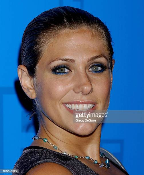 Jenna Lewis during E Entertainment Television's 2005 Summer Splash Event Arrivals at Tropicana at The Hollywood Roosevelt Hotel in Hollywood...