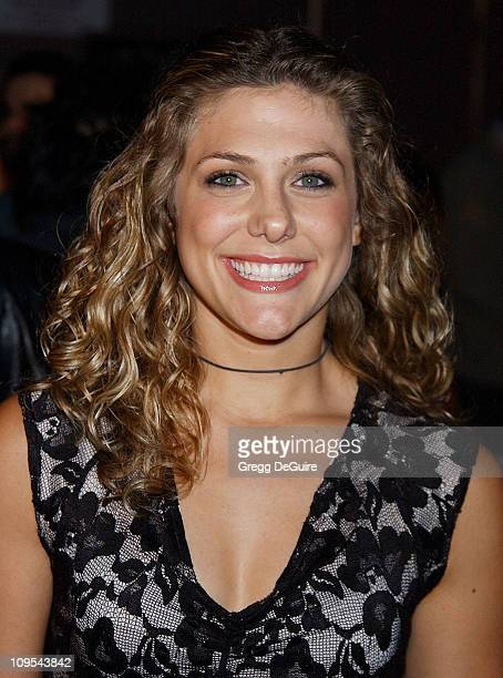 Jenna Lewis during Los Angeles Fashion Week Lotta Fall 2002 Collection to Benefit Dress for Success at Moomba in West Hollywood California United...