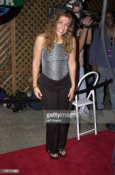Jenna Lewis during Survivor finale party at Television City in Los Angeles California United States