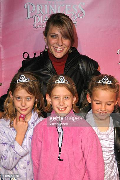 Jenna Lewis during The Princess Diaries 2 DVD Pajama Ball Benefiting St Jude Children's Research Hospital at The Beverly Hilton Hotel in Beverly...