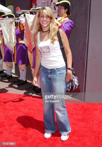 Jenna Lewis during The Princess Diaries 2 Royal Engagement World Premiere Arrivals at AMC Downtown Disney in Anaheim California