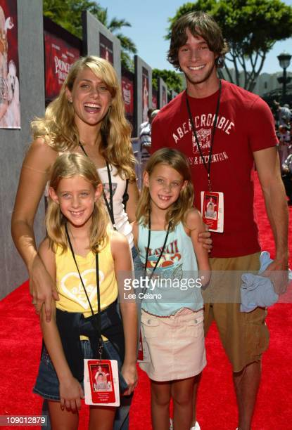 Jenna Lewis with her sisters Katie and Sabrina and Travis Wolfe