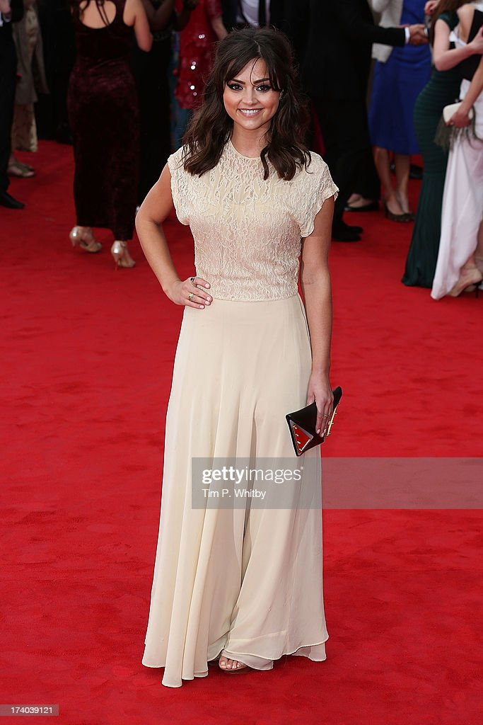 Jenna Louise Coleman attends the Arqiva British Academy Television Awards 2013 at the Royal Festival Hall on May 12, 2013 in London, England.