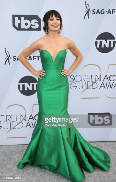 Jenna Lyng Adams attends the 25th Annual Screen Actors Guild Awards at The Shrine Auditorium on January 27 2019 in Los Angeles California