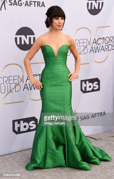 Jenna Lyng Adams attends the 25th Annual Screen ActorsGuild Awards at The Shrine Auditorium on January 27 2019 in Los Angeles California 480645
